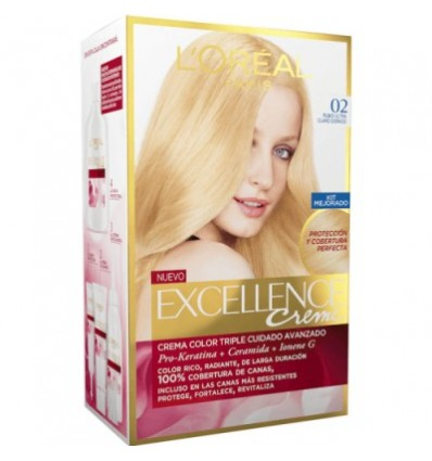 Hair dye Excellence 0.2 Rubio Ultra Light Golden