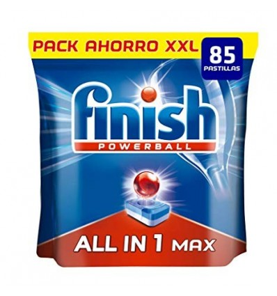 Lavavajillas Finish Todo En 1 25 capsulas