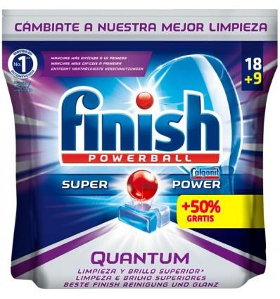 Lavavajillas Finish Pastll Quantun 18 capsulas