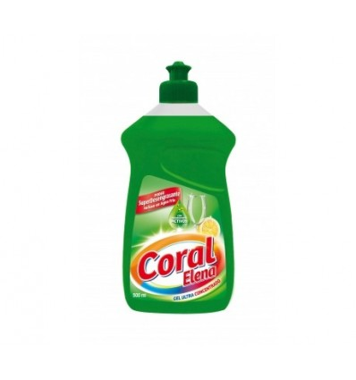 Coral Dishwashing Liquid Concentrate 500 Ml