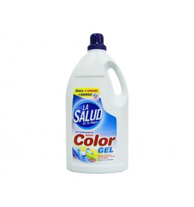 Detergente Liquido La Salud Color 4 L