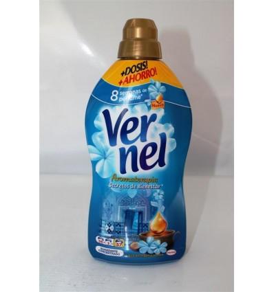 Suavizante Vernel Concentrado 1.4 L Aromaterapia 54 dosis