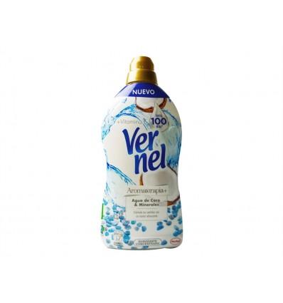 Suavizante Vernel Agua de Coco Concentrado 1.4 L 54 dosis
