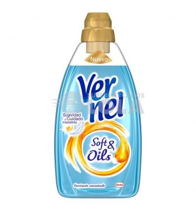 Suavizante Vernel Soft&oil Violeta 750