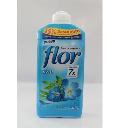 Suavizante Flor Concentrado 1,035 Ml Azul 45 Dosis