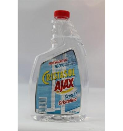 Limpiacristales Cristalino Recambio 750 Ml Ajax