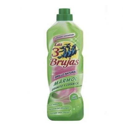 Nettoyant pour la maison Las 3 Brujas Marbre Granite 1 L