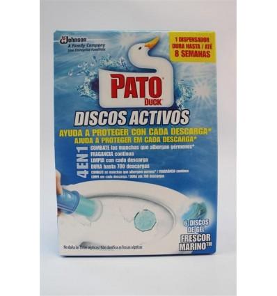 W.c. Pato Discos Azul