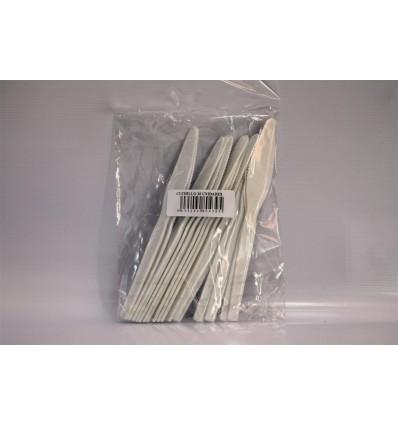 Cuchillo Plastico Konny Grande 20 Unidades