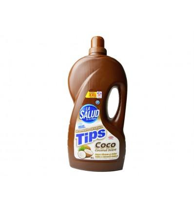 Detergente Liquido La Salud Coco 4L