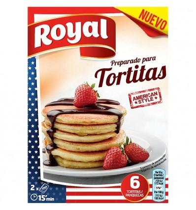 Preparado Tortitas Royal 120 Grs