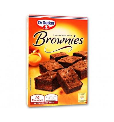 Brownies au gâteau Dr Oetker 456 Gr Préparation