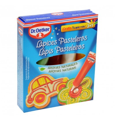 Lapices Pastelero Decoracion Dr Oetker