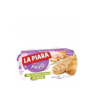 Paté di tacchino La Piara Pack 2x150 gr