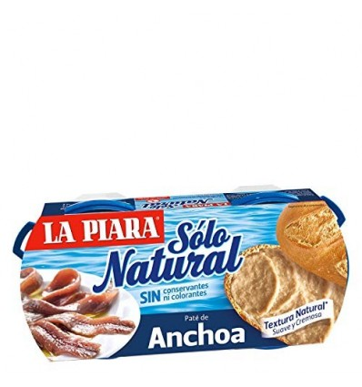 Paté de Anchoas Pack 2x75g La Piara