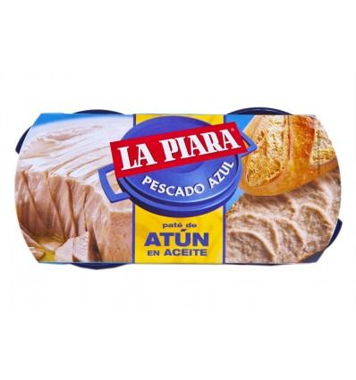 Paté de Atún en Aceite Pack 2x75g La Piara