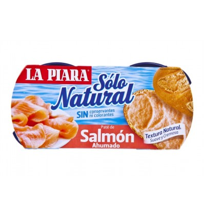 Paté de Salmón Pack 2x75g La Piara