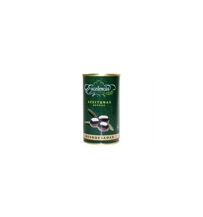 Olives noires Excelencia sans noyaux 350 Grs