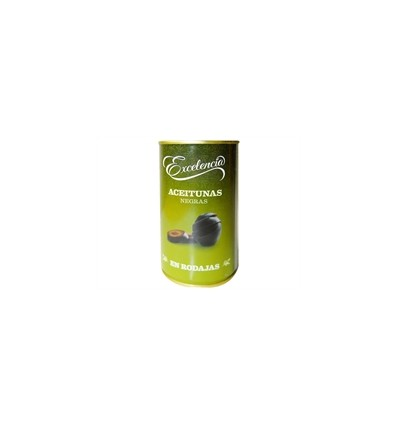 Excelencia Geschnittene schwarze Oliven 150 Gr