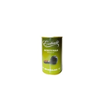 Olive nere a fette Excelencia 150 Gr