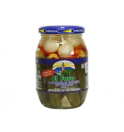El Faro soft pickles banderillas 370g