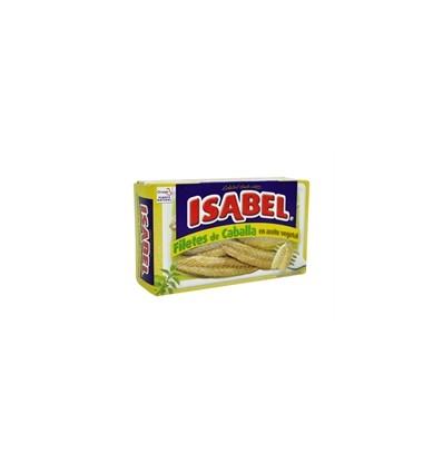 Filete de Caballa en Aceite Vegetal Isabel Ro-125 115 gr