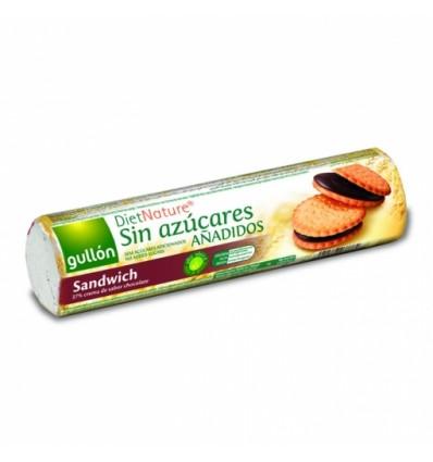 Galletas Sandwich de Chocolate Sin Azúcar Añadido 250 Gr Gullon