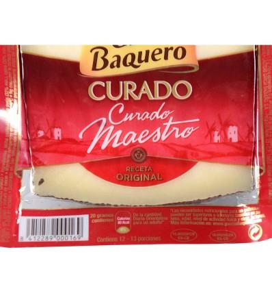 Queso Curado Cuña 250g García Baquero