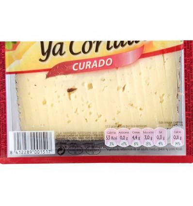 Queso Curado Cortado Cuña 250g García Baquero