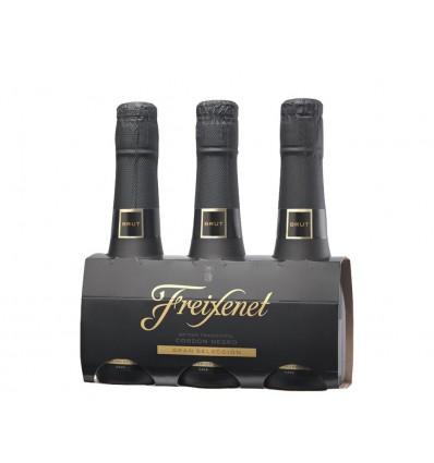 Cava Cordon Negro BenjamIn Freixenet Pack 3 unidades 600ml