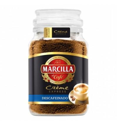Caffè solubile Marcilla Creme Decaffeinato 200 Grs