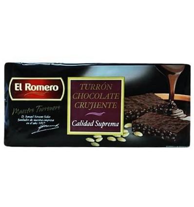 El Romero Choco Crujiente Supremo 200 Gr