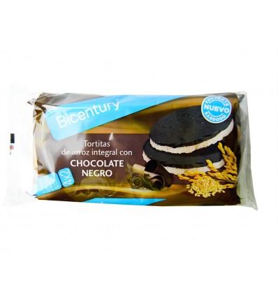 Bicentury galettes Riz Choco Noir 130 Grs