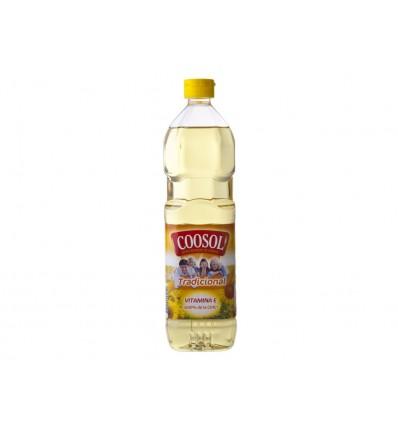Aceite de Girasol Botella 1l Coosol