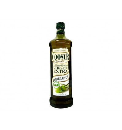 Huile d'Olive Extra Vierge Hojiblanca Bouteille 1l Coosur
