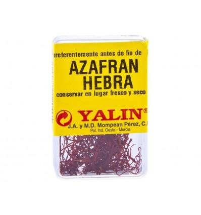 Azafrán en Hebras Yalin Caja 1g Yalin