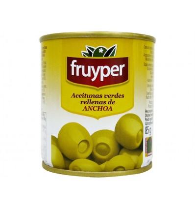 Olives farcies à l'anchois Conserve 85g Fruyper