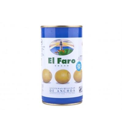 Manzanilla Fine Olive farcie à l'anchois Conserve 350g El Faro
