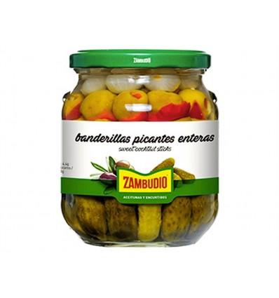 Banderillas Picantes Tarro 300g Zambudio