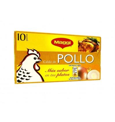 Caldo de Pollo Caja 10 Pastillas Maggi