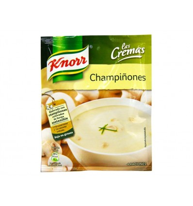 Crema de Champiñones Sobre 62g Knorr