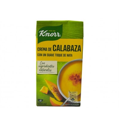 Crema de Calabaza Brik 500ml Knorr