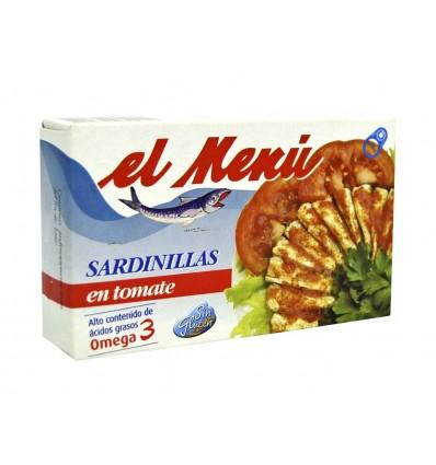 Sardinillas en Tomate Lata 90g El Menú