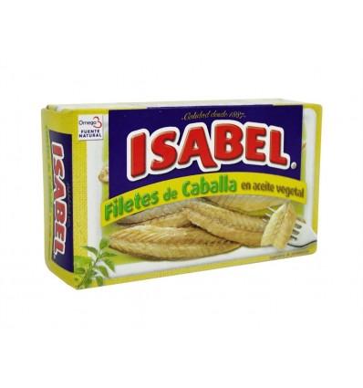 Filete de Caballa en Aceite Vegetal Lata 115g Isabel