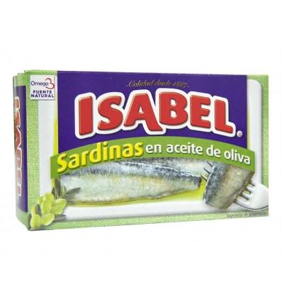 Sardinas en Aceite de Oliva Lata 115g Isabel