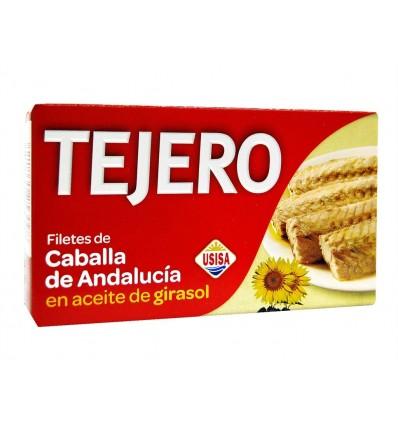 Filete de Caballa en Aceite de Girasol Lata 120g Tejero