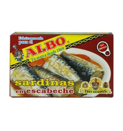 Sardinas en Escabeche Lata 120g Albo