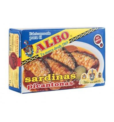 Sardinas en Salsa Picante Albo Lata 120g