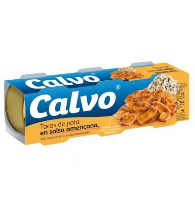 Calamares en Salsa Americana Pack 3x80g Calvo