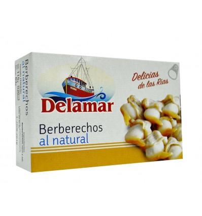 Berberechos al Natural Lata 115g Delamar